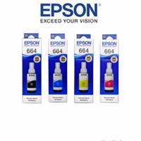 1SET Tinta Epson 664 Support Printer L100 L120 L200 L210 L350 dll.