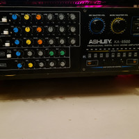 ASHLEY KA-6500 Professional Mixing Amplifier