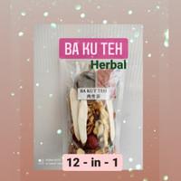 Herbal Bakut Teh ramuan komplit isi 12 macam