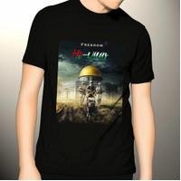 Baju kaos pria palestine kaos palestin freedom al-Quds