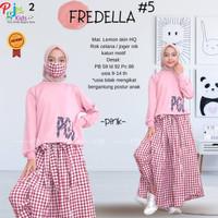 Fredella by Pgj - Setelan Baju Anak Remaja Perempuan / Set Rok Celana