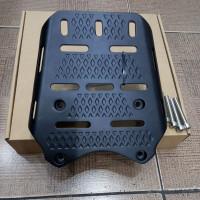 breket box pcx 150 lokal ukuran standar - Hitam