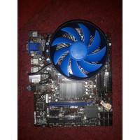 Processor AMD FX 6300 + Motherboard MSI 760GM-P23(FX) + Cooler Deepcoo