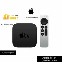 APPLE TV 4K 32GB 6TH GEN 2021 WITH SIRI REMOTE A12 BIONIC CHIP OSS