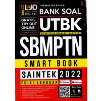 Buku Bank Soal UTBK SBMPTN Saintek 2022 - Tim Master Eduka