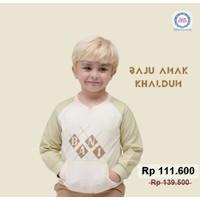 Sweater Anak Khaldun | Baju Anak | Casko Khaldun | Baju Anak Laki-laki - 3-4 tahun, 303 Cream