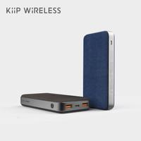 KIIP WIRELESS POWER BANK 10W FAST CHARGING PD&QC 3.0 18W 20000MAH