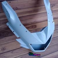 cover fairing barong totok depan ninja rr new original warna putih