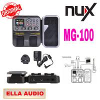 efek gitar nux mg 100/ multi efek +pedal