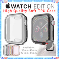 Case Apple Watch Series 6 dan Series SE 40mm 44mm Casing Silikon Cover