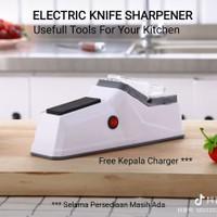 Pengasah Pisau Elektrik Asahan Pisau Gunting Electric Knife Sharpener