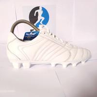 sepatu bola Adidas predator kulit asli full putih