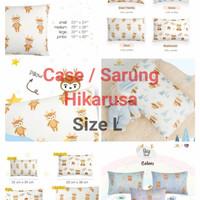 Sarung / Cover Bantal Hikarusa Deer Mushroom Size L