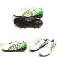 Sepatu Bola Import Model Ortuseight - Putih Hijau, 39