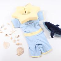 Floswim baju renang bayi ukuran S biru (1-3thn) - Blue