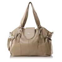 Tas Hand Bag Wanita Premium/Hand Bag Elegan INF 690L -Cream