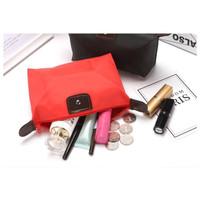 Tas kosmetik Travel bag serba guna CB001 bahan tebal - Maroon