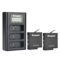 KingMa Paket Complete Baterai 2 Charger Set GoPro Hero 5 / 6 / 7 Black