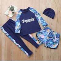 Baju Renang Anak Perempuan Remaja/Dewasa Teamplay Import SW278