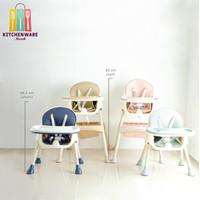 Kursi Makan Bayi Baby Chair Children Dining Chair - Navy