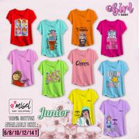 Pakaian Baju Anak Perempuan Cewek Junior Misel umur 4-12 tahun