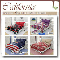 CALIFORNIA Set Bedcover 180x200 / 160x200 - King Size / Queen V1