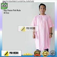 Baju Pasien   Baju operasi   Baju rumah sakit pink muda