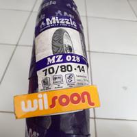 Ban Luar Mizzle MZ 028 70/80-14 Tube Type / Non Tubles