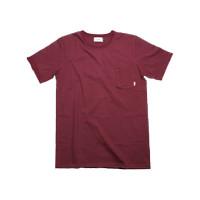 Saka Shirt Rosewood- Merah - Maroon - Baju - Kaos polos - Unfinished