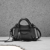 Balenciaga neo classic mini city all black