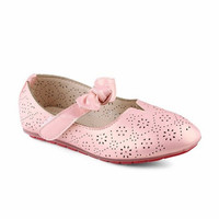 Flat Shoes Anak Perempuan Laser Cut 818-7 - Fransisca Renaldy - Beige, 28