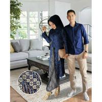 MYREDO - Baju Couple Pasangan Kondangan Brukat Kebaya Dan Kemeja Numa