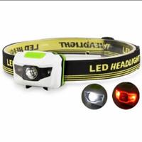 Headlamp camping mitsuyama AAA - Putih