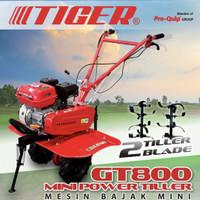 Mini Tiller Traktor Mini Mesin Bajak Cultivator TIGER GT800