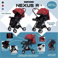 stroller hadap ibu kereta dorong bayi BabyDoes CH-TN 730 SH Nexus R