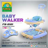 Baby Walker Family Tipe 2121 - Biru