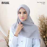 Jilbab Segi Empat Polos Voal Premium Aune Original Brand Mysure