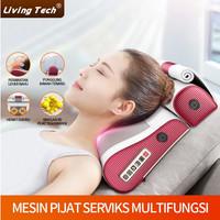 Pijat bantal pijat listrik portabel bantal pijat leher dan bahu