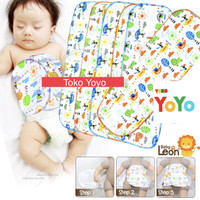 Gurita Bayi Instan Perekat Baby / Gurita Bayi Newborn Instan Baby Leon - 6pc (RANDOM), L
