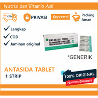 Obat Lambung I Obat Maag I Antasida Doen tablet - Strip isi 10
