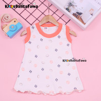 (ISI 3 PC) Daster Yukensi Bayi uk 0-12 Bulan / Dress Baby Baju Kaos