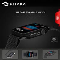 PITAKA Air Case Apple Watch Series 6/SE/5/4 REAL ARAMID CARBON