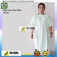 Baju Pasien   Baju operasi   Baju rumah sakit hijau muda