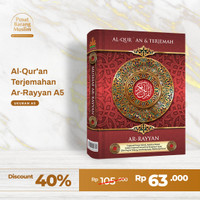 Al Qur'an Terjemah Ar-Rayyan A5 (Best Seller)