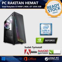 PC Rakitan   i5 9400F   8GB   GT 1030   Value For Design