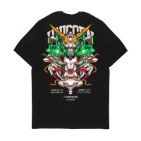 Kaos Pria Kizaru T-Shirt Anime Mecha Series: GUNDAM UNICORN