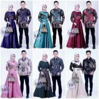 Seragam Baju Batik Mewah Couple Pasangan Keluarga Sarimbit Terbaru
