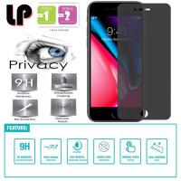 LP Anti-Spy Tempered Glass iPhone 7 Plus - 8 Plus - Kaca Privacy Ori