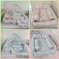 Kasur baby nest bayi set bantal guling bayi kelambu lipat