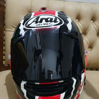 Helm Arai RX7 RR5 Mick Doohan SNI, size XL
